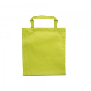 PP non-woven draagtas korte handgreep - Groen - 38x42cm-0