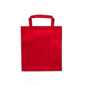 PP non-woven draagtas korte handgreep - Rood - 38x42cm-0