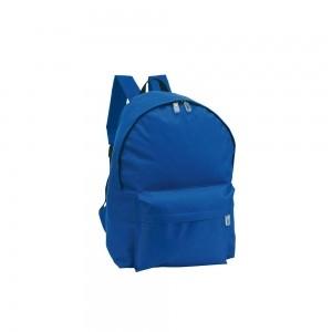 Polyester rugtas schouderbanden - Blauw - 28x14x40 cm-0