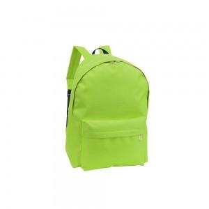 Polyester rugtas schouderbanden - Groen - 28x14x40 cm-0