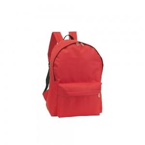 Polyester rugtas schouderbanden - Rood - 28x14x40 cm-0