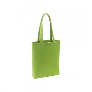 Vilten draagtas schouderhengsels - Groen - 38x8x42 cm-0