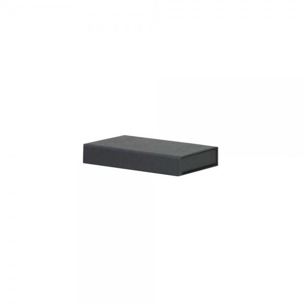 Luxe magneetdoos - Zwart (mat) - 12x7x2 cm-0