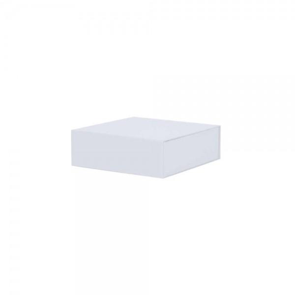 Luxe magneetdoos - Wit (mat) - 15x15x5 cm-0