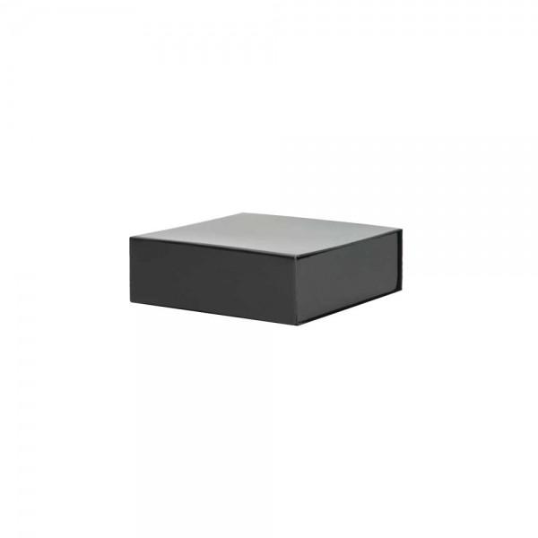 Luxe magneetdoos - Zwart (glans) - 15x15x5 cm-0