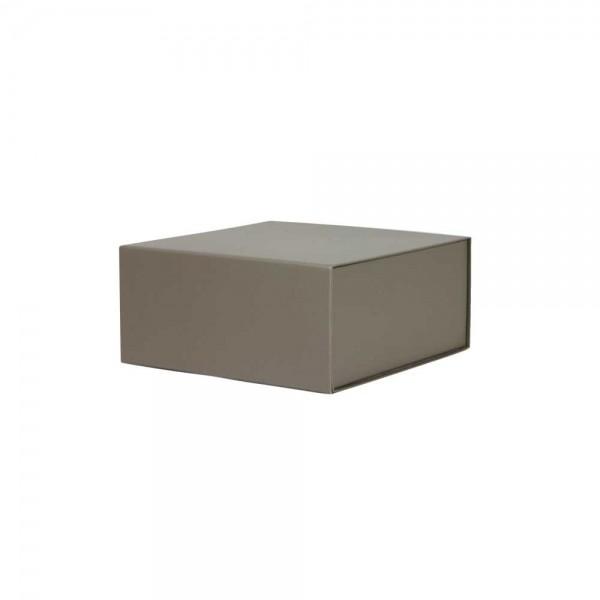 Luxe magneetdoos - Taupe (mat) - 22x22x10 cm-0