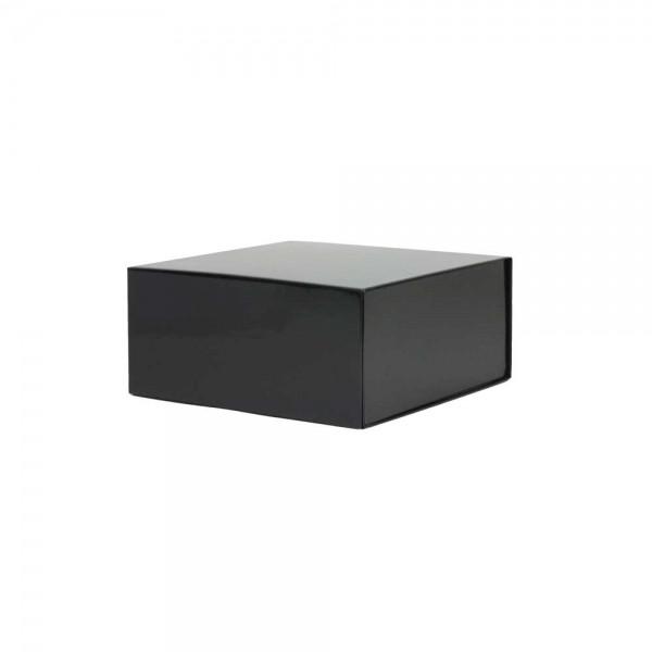 Luxe magneetdoos - Zwart (glans) - 22x22x10 cm-0
