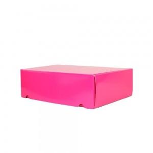 Luxe verzenddoos - Roze (glans) - 35x24x10,5 cm-0