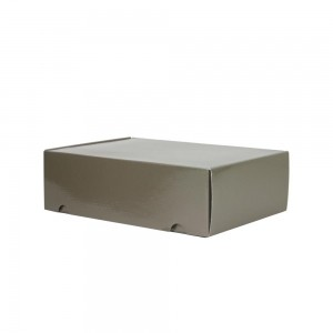 Luxe verzenddoos - Taupe (glans) - 35x24x10,5 cm-0