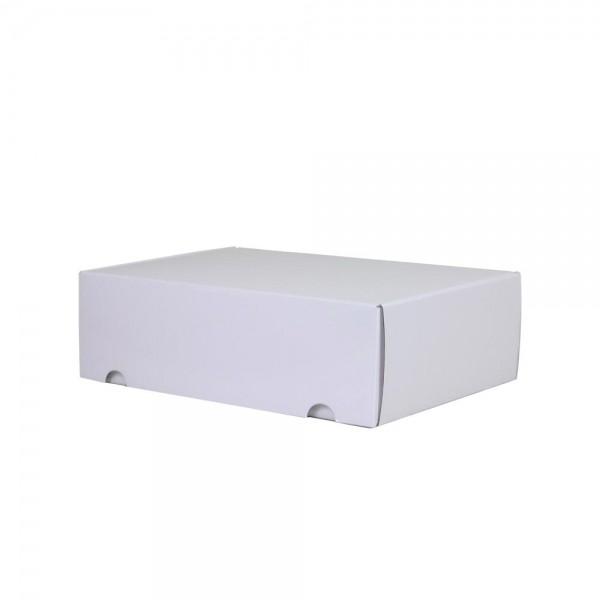 Luxe verzenddoos - Wit (glans) - 35x24x10,5 cm-0