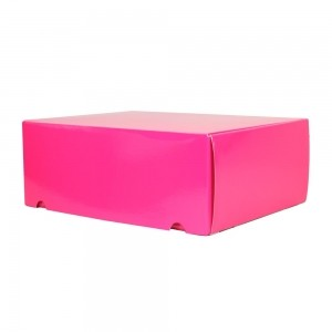 Luxe verzenddoos - Roze (glans) - 42,5x31x15,5 cm-0
