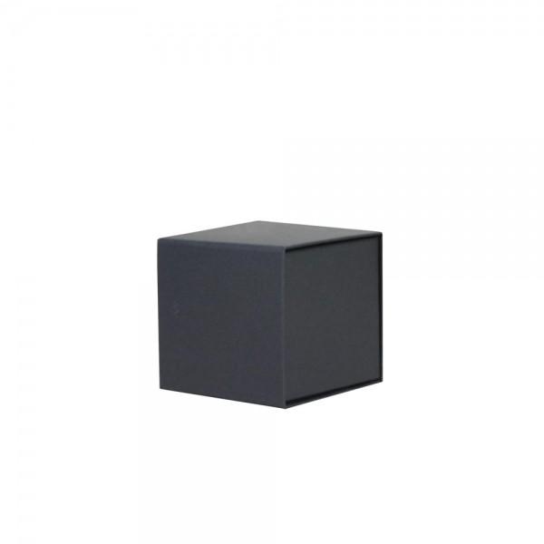 Luxe magneetdoos - Zwart (mat) - 10x10x10 cm-0