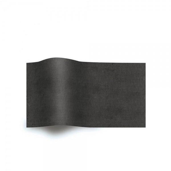 Zijdevloeipapier - Zwart - 240 vel - 50x75 cm-0