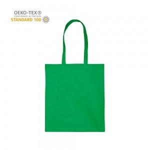 Katoenen draagtas schouderhengsels oeko-tex - Groen - 38x42 cm