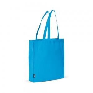 PP non-woven draagtas schouderhengsels - Lichtblauw - 38x9x42 cm