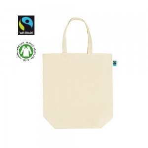 canvas draagtas fairtradegots 40x42x12 naturel