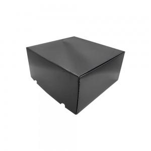 Luxe verzenddoos 41x41x20, cm zwart glans