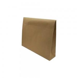 Papieren sluitzak 52x42x11 bruin kraft