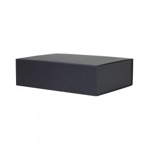 Luxe magneetdoos 44x30x12 zwart kraft