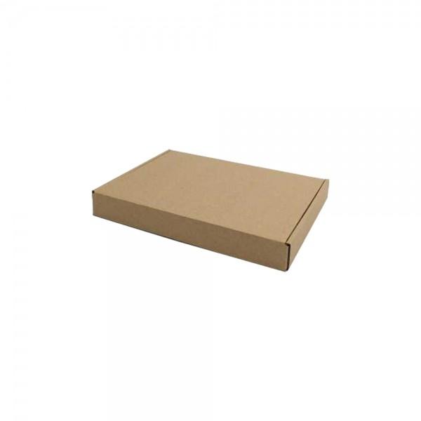 Luxe verzenddoos 22,5x17x3 cm kraft