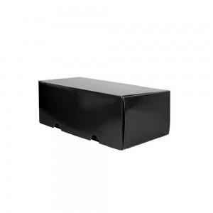 Luxe verzenddoos 23x12x10,8 cm zwart glans