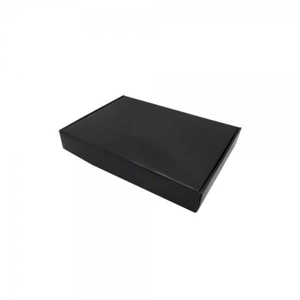 Luxe verzenddoos 23x17x38 zwart glans