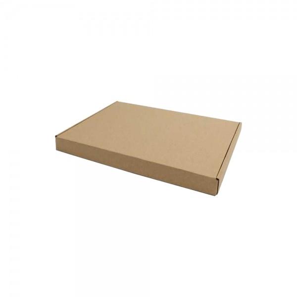 Luxe verzenddoos 31,5x22,5x3 cm kraft